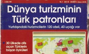 Dünya turizminin Türk patronları