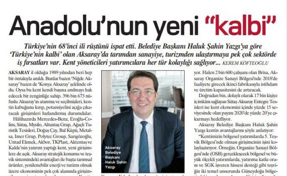 """Anadolu'nun yeni """"kalbi"""""""