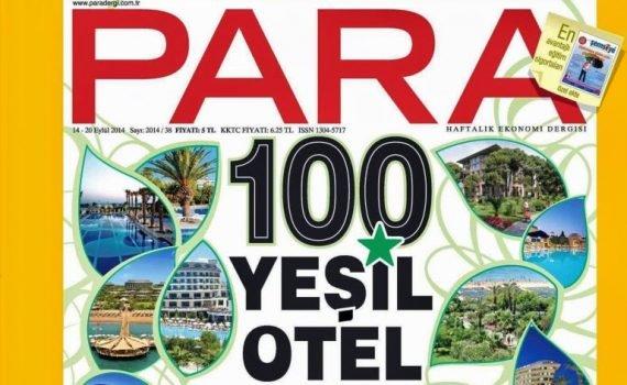 Yeşil Yıldızlı otellere ilgi artıyor