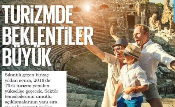Turizmde beklentiler büyük