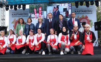 Kastamonu'nun ilk Gastronomi Festivalinde muhteşem final